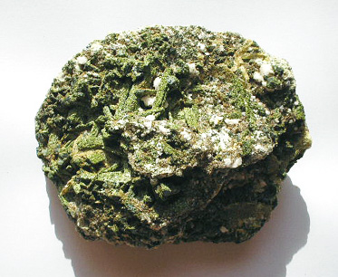EPIDOTE ON DOLOMITE